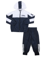 Parish - 2 Pc Color Block Nylon Jogger Set (2T-4T)-2220872