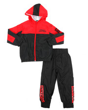 Parish - 2 Pc Color Block Nylon Jogger Set (4-7)-2220832