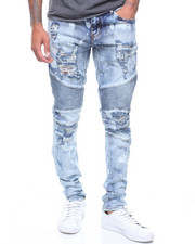 Jeans & Pants - Skywalker Biker in Mid Wash-2221352