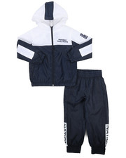 Parish - 2 Pc Color Block Nylon Jogger Set (8-20)-2220863
