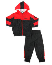 Sets - 2 Pc Color Block Nylon Jogger Set (2T-4T)-2220859