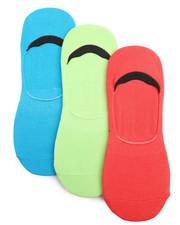 Accessories - 3 Pk No Show Socks-2221592
