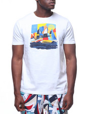 Nautica - ABSTRACT BOAT CREW TEE-2221837