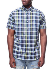 Nautica - SS BAY PLAID BUTTON DOWN SHIRT-2221936
