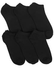 DRJ SOCK SHOP - Isaac Mizrahi 6 Pack Socks-2221630