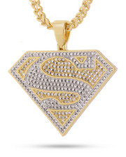 King Ice - Justice League x King Ice – The Superman Necklace-2221033