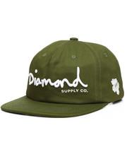 Diamond Supply Co - OG Script Unstructured Snapback Cap-2221028