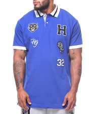 Hustle Gang - Letterman Polo (B&T)-2222155
