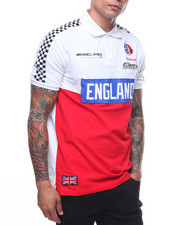 Eternity BC / AD - England Moto Polo Shirt-2222468