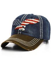 Hats - Flag Eagle Vintage Dad Hat-2221041