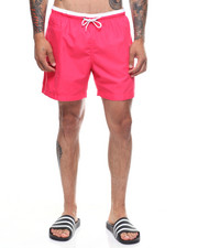 Mens-Swim - Solid Swim Shorts-2222606