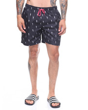 Mens-Swim - Lightening Bolt Swim Shorts-2222490