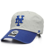 '47 - New York Mets 47 Clean Up Strapback Cap-2220950