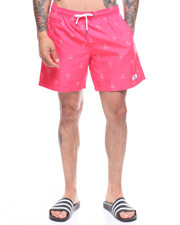 Swimwear - Anchor Sailboat Swim Shorts-2222456