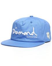 Diamond Supply Co - OG Script Unstructured Snapback Cap-2221026