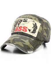 Hats - Kiss My Bass Vintage Dad Hat-2221621