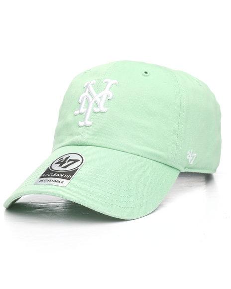 '47 - New York Mets 47 Clean Up Strapback Cap