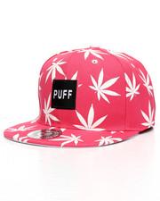 Buyers Picks - Puff Marijuana Snapback Hat-2221022