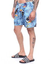 Swimwear - Rainforest Toucan Swim Shorts-2222623