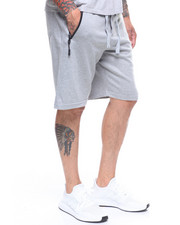 Athleisure for Men - KNIT WAISTBAND W/ SEATED SEAMED ZIPPER SHORT-2222578