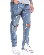Jeans & Pants - Pacific Denim Paint in Stone Wash-2222594