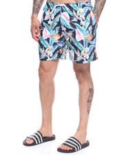 Trunks - Maui Floral Swim Shorts-2222598