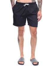 Mens-Swim - Solid Swim Shorts-2222555