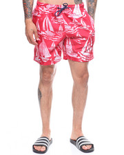 Mens-Swim - Gone Sailing Swim Shorts-2222612