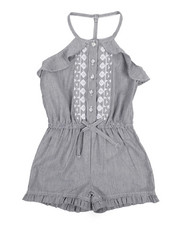Dollhouse - Ruffle Sleeveless Romper (2T-4T)-2222255