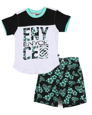 Enyce - Graphic Tee/Denim Short Set (2T-4T)-2222830