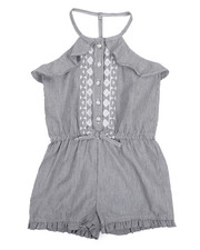 Dollhouse - Ruffle Sleeveless Romper (4-6X)-2222251