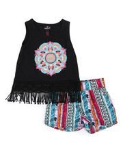Sets - 2 Piece Short & Graphic Tank Top Short Set (4-6X)-2222709