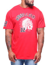 Hustle Gang - S/S Sports Club Tee (B&T)-2223443
