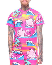 Pink Dolphin - SUMMER SPLASH TEE-2222583