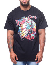 Hustle Gang - S/S Acid Chief Tee (B&T)-2223450
