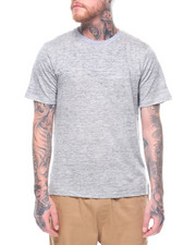 Athleisure for Men - Linen Crew Tee-2223508