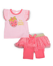 Duck Duck Goose - Tulle Tutu Bermuda Short Set (Infant)-2222750