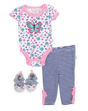 Infant & Newborn - 3 Piece Knit Pant Set (Infant)-2222216