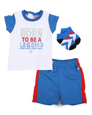 Duck Duck Goose - Tee, Shorts, Socks 3pc Set (Infant)-2222806