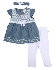 Infant & Newborn - Chambray & Legging Set (Infant)-2222758