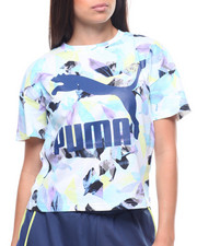 Puma - Classics Logo Tee Aop-2223065