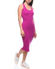 Fashion Lab - S/L Tank Midi Dress-2221617