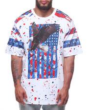Akademiks - S/S Eagle Flag Tee (B&T)-2223922