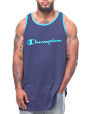 Champion - Tank Contrast Neck Band (B&T)-2223985