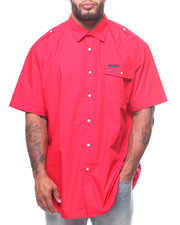 Sean John - S/S Solid Shirt (B&T)-2224004