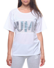 Puma - Big Cat Drapey Tee-2223075