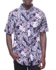 Mens-Swim - Paint Wash Tropical Shirt-2224522