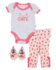 Duck Duck Goose - 3 Piece Knit Pant Set (Infant)-2222212