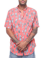 Mens-Swim - Pineapple Tropical Shirt-2225232