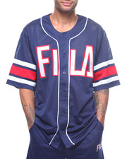 Athleisure for Men - S/S Kyler Baseball Jersey-2224031